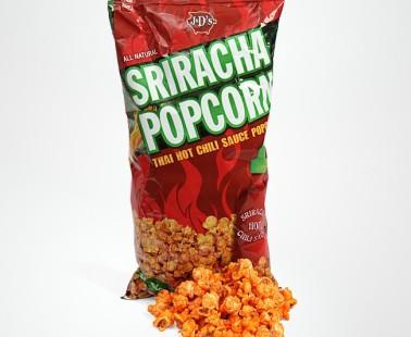 Sriracha Flavored Popcorn