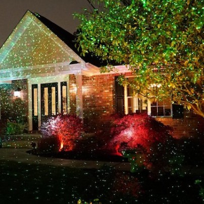 Decorate Your House For Christmas In A Flash With The Star Shower