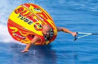 Sumo Tube: Make a Splash With This Inflatable, Towable Water Craft