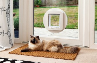 The SureFlap Microchip Pet Door Lets You Control Which Pets Go in and Out of Your Home