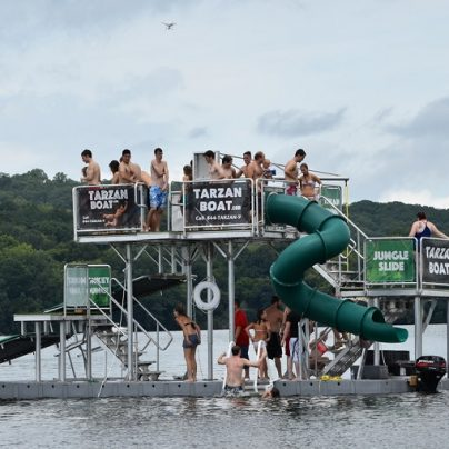 The 'Tarzan Boat' Could Very Well Be The Best Thing This Summer