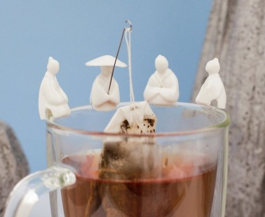 Tea Time Gets A Lot Cuter With These Fishermen Tea Bag Holders