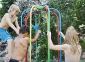 Entertain Your Kids with This Colorful Bouncy Jungle Gym
