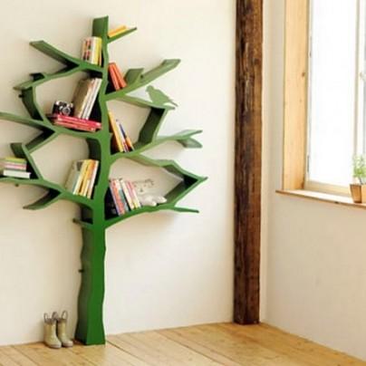 Tree Bookcase by Nurseryworks