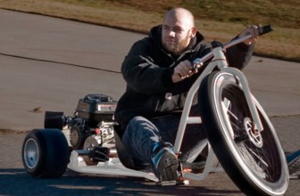 Tear Up the Streets with this Motorized Tricycle