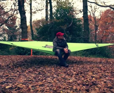 The Tentsile Trillium Hammock Is The Most Hardcore Triple Hammock