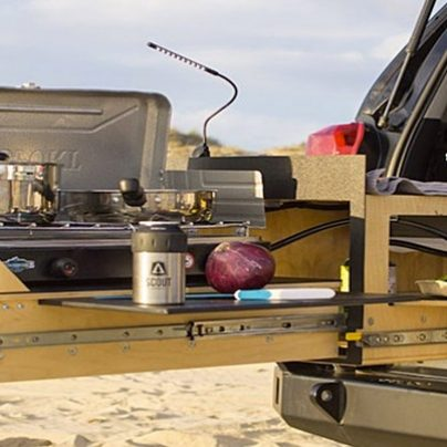 Turn The Back of Your Truck Into A Working Kitchen