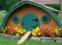 Unique Hobbit Hole Chicken Coop