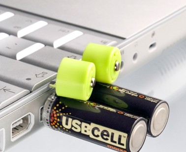 AA Rechargeable Batteries Charged Via USB
