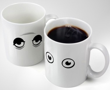 A Coffee Mug That Wakes Up As You Do