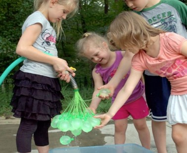 Fill an Army's Worth of Water Balloons in a Matter of Seconds