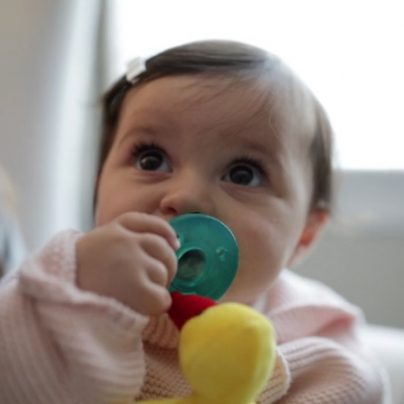 The WubbaNub Combines a Plush Toy with a Soothing Pacifier to Help Any Fussy Baby