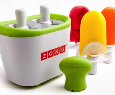 Make Ice Pops On Your CounterTop Without Electricity